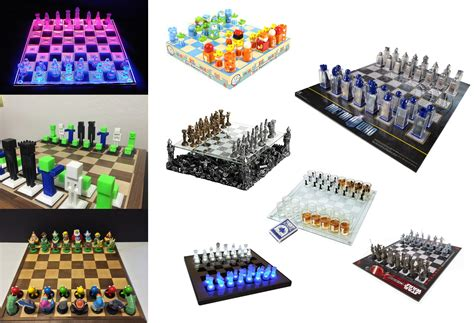 Coolest Chess Sets by Cool Chess Pieces 1156