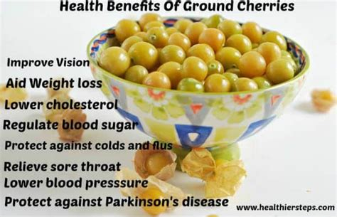 All About Cherries by All About Ground Cherries Healthier Steps