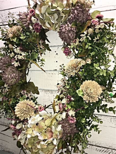 decorative wreaths for home spring wreath everyday wreath hydrangea wreath all