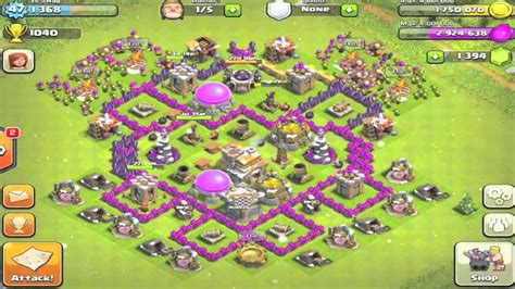 clash of clan town hall 7 base imga town hall level 7 base www imgkid com the image kid