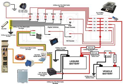 travel trailer inverter wiring diagram trailer