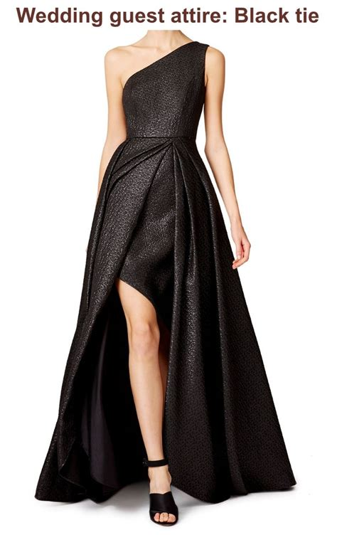 Revow Wedding by Choosing The Appropriate Dress For A Black Tie Wedding