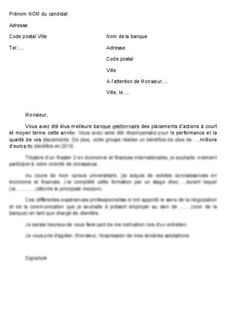 Lettre De Motivation De Candidature Université Exemples De Lettre De Motivation Candidature Spontanee