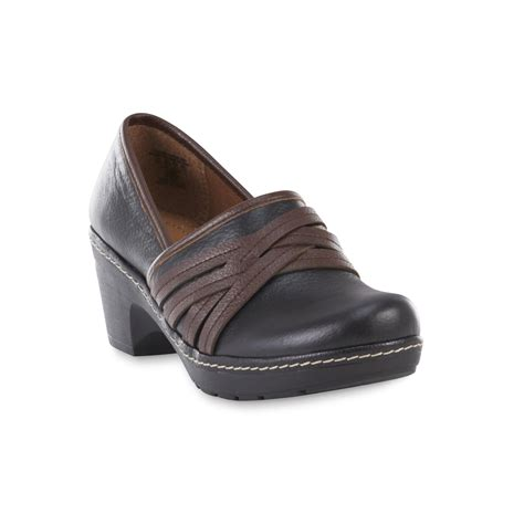 wide width clogs for thom mcan s casper black brown leather clog wide