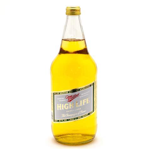 Miller High Lite by Miller High 32oz Bottle Wine And Liquor