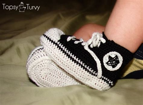 knitted converse baby booties pattern converse crochet booties the whoot