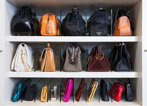 How To Organize Bags In Closet by 25 Changing Ways To Organize Your Purses Closetful