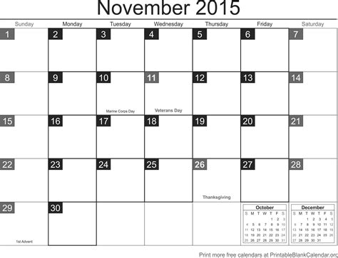 free printable monthly calendars november 2015 2015 monthly calendars archives page 2 of 4 printable