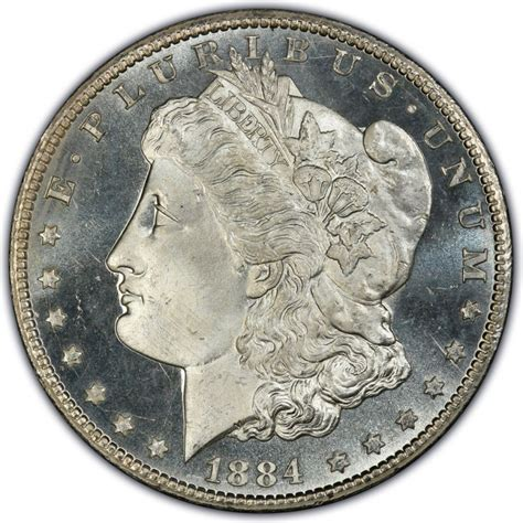 price in dollars 1884 silver dollar values and prices past sales