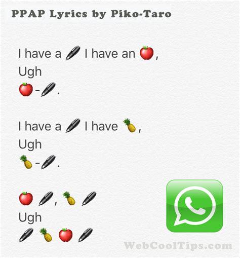 Whatsapp Wallpaper Japan | japan ppap song lyrics download in whatapps smileys emoji