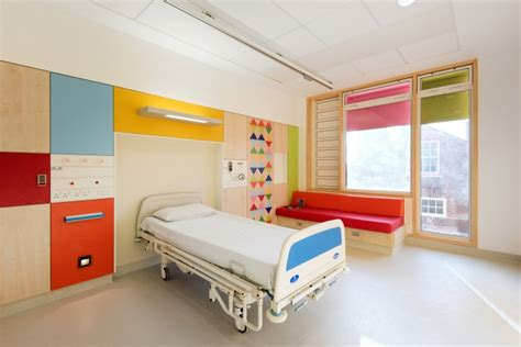 Ward Interiors by Children S Hospital By Morag Myerscough Sheffield Uk