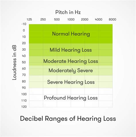 hearing range signs types of hearing loss audicus