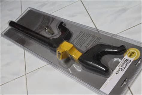 lihat harga produk di indonesia jual kunci stir mobil yale steering wheel lock v 166a