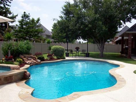 Backyard Pools Guthrie Ok Oklahoma Backyard Paradise This Is A 7ft Salt Water