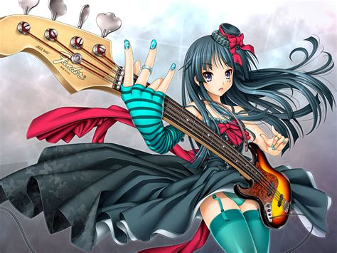 anime girl playing guitar wallpaper anime girl wallpapers full desktop backgrounds