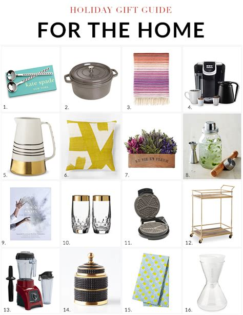 gifts for home gifts for home endearing holiday gift guide