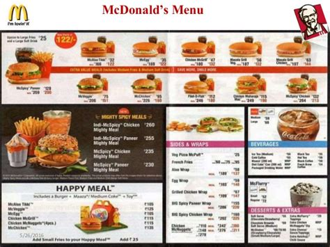 mcdonalds hsr layout breakfast menu image gallery mcdonald s menu 2016