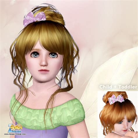 sims 3 toddler hair my sims 3 blog new hair for toddler elder females by peggy
