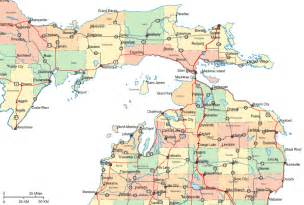 Northern Michigan Map by Northern Michigan Map Rivers Pictures To Pin On Pinterest