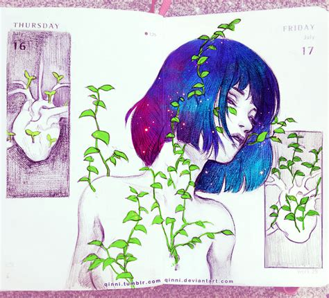 qinni sketchbook growing heartbeat by qinni on deviantart