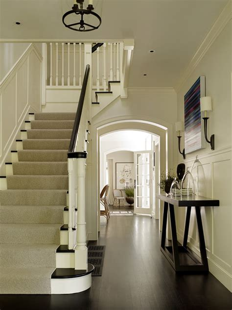 San Francisco Colonial Revival Traditional Palo Alto Colonial Revival Traditional Staircase