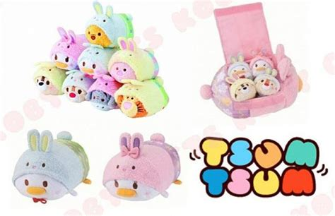 Pajamas Big Tsum previews of the new easter tsum tsums that will be