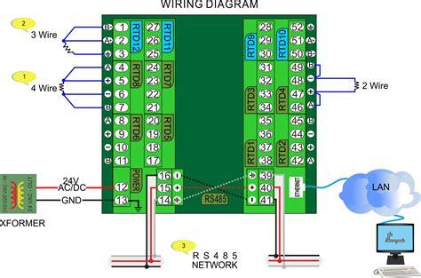 pt100 wiring diagram tc rtd wiring diagram pt100 temperature sensor circuit