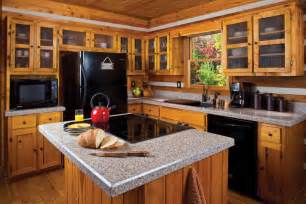 kitchen counter island pairing rustic kitchen cabinets with granite countertops