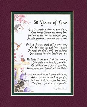 family 50th wedding anniversary quotes quotesgram - 50th Wedding Anniversary Poems