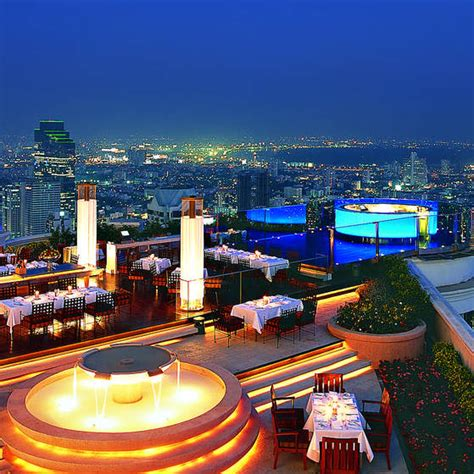 Roof Top Bar In Bangkok by Sky Bar At Hotel Lebua Bangkok Rooftop Bars Askmen