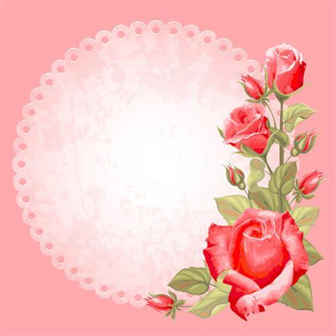 background design rose 15 free vector vintage flower backgrounds freecreatives