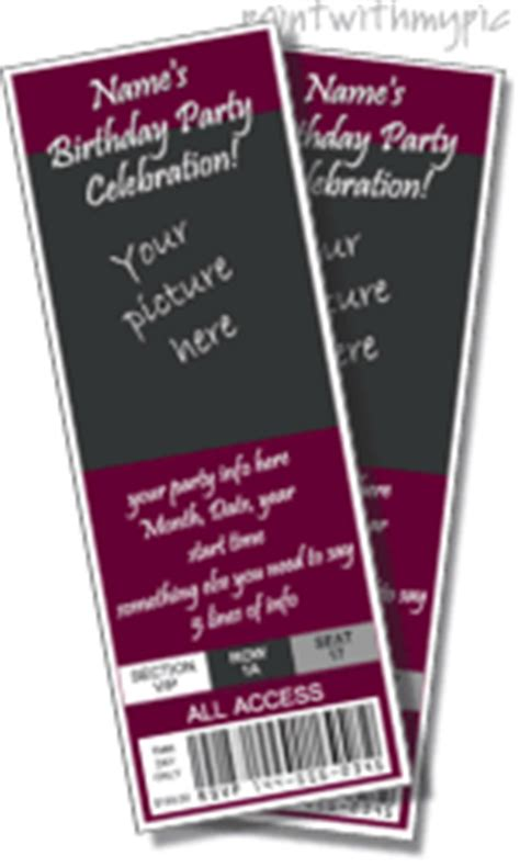 free printable graduation tickets graduation ticket template frozen pinterest