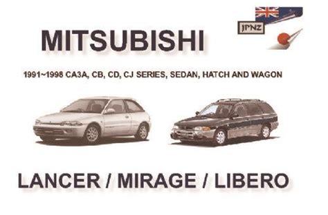 Kabel Kopling Mitsubishi Lancer Cb 1993 1996 Original mitsubishi lancer mirage libero 1991 1998 owners manual 1869760867 9781869760861