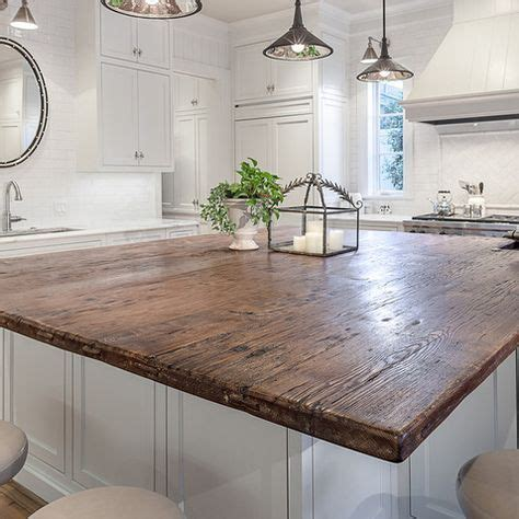 wood top kitchen island best 25 wood countertops ideas on wood