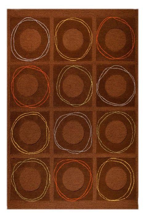 area rug mat mat orange circa area rug brown
