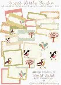 sweet birds address shipping amp round labels worldlabel blog