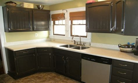 Before And After Melamine Kitchen Cabinets Best Kitchen Cabinet Hardware Repainting Kitchen Cabinets