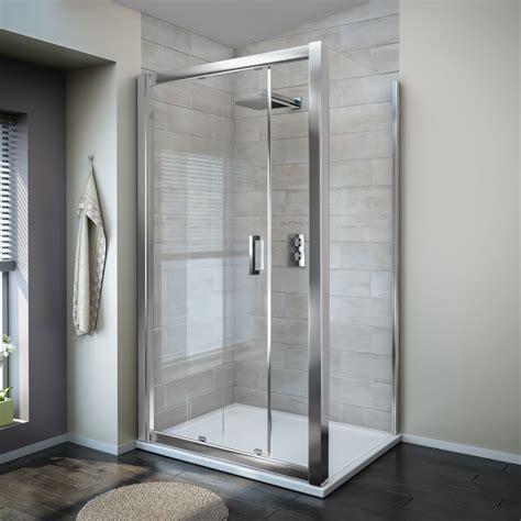 Large Shower Doors Turin 8mm Rectangular Sliding Door Shower Enclosure