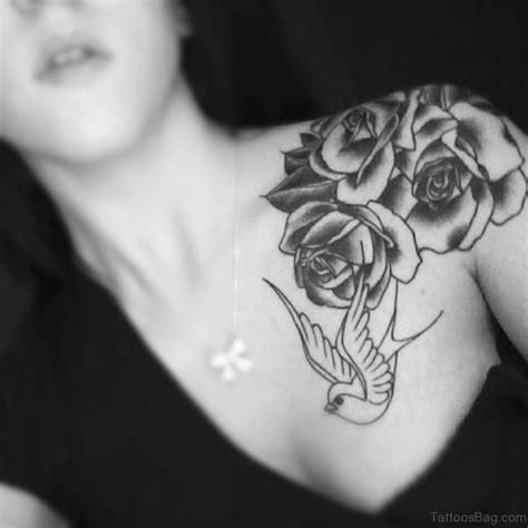 black and white rose tattoos on shoulder 57 pleasant black designs