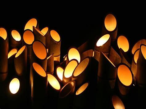bamboo art lighting casa lamparas artesanales