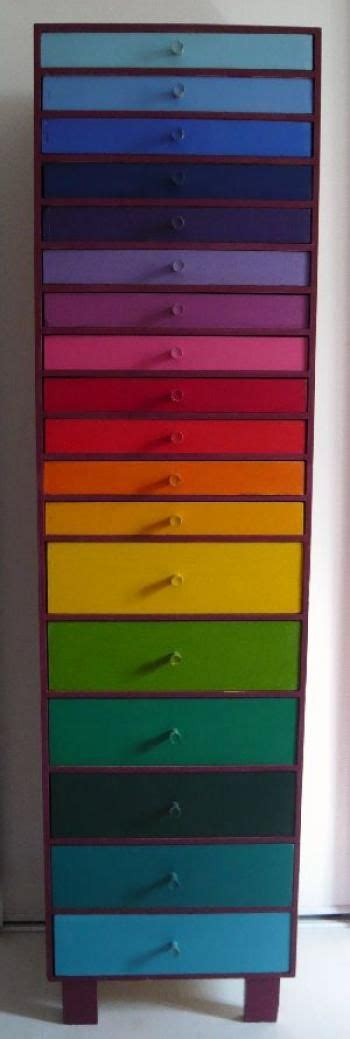 rainbow colored storage drawers drawers rainbows and rainbow colors on