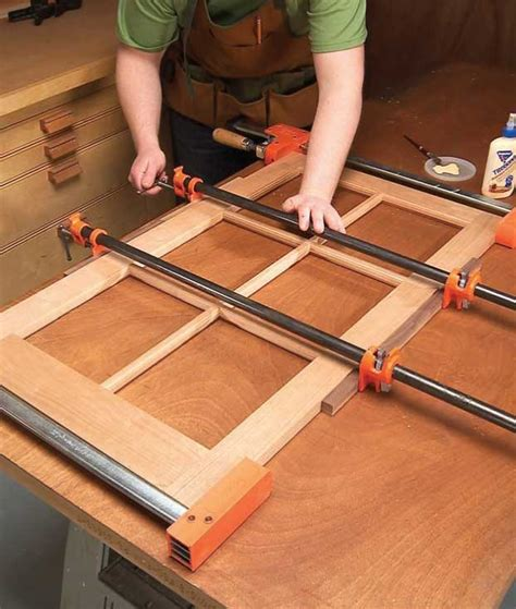 how to router cabinet doors for glass how to make glass cabinet doors free diy tutorial
