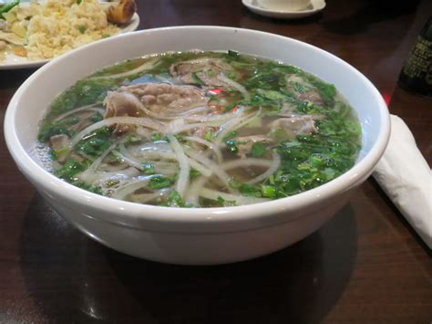 fortune garden rock pho chin beef noodle soup eye of steak