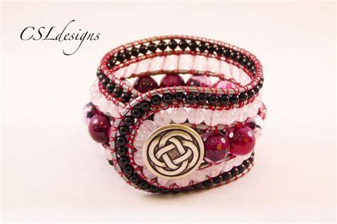 beaded cuff bracelet tutorial 745 best beaded bracelets images on