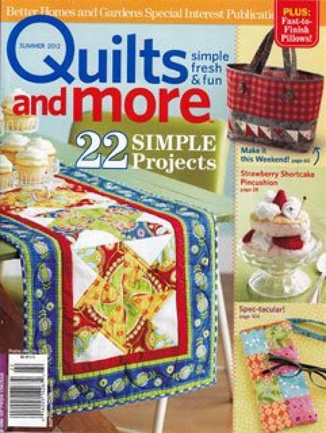 Quilt Sler Magazine Subscription by Quilt Magazine Better Homes And Gardens 28 Images