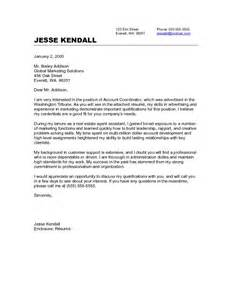 Cover Letter For New Career by No Experience Cover Letter Sles Career Change Cover Letter