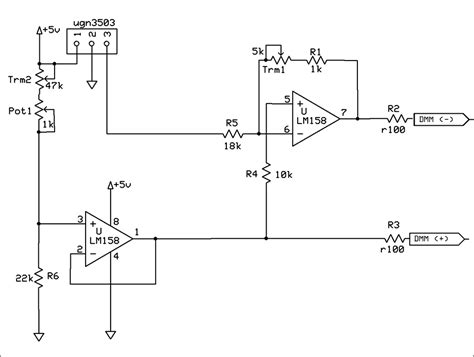 effect current sensor circuit diagram effect current sensor circuit diagram 28 images effect