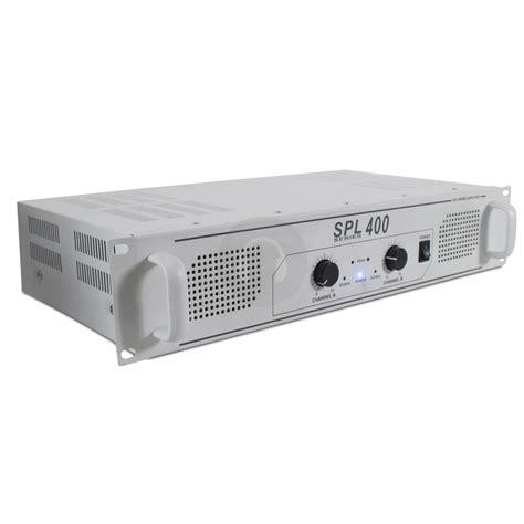 Power Lifier 400 Watt skytec spl 400 watt white power lifier ebay