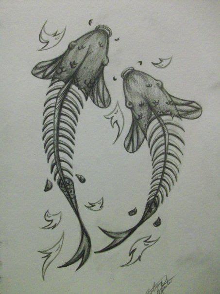 tattoo koi fish skull skele koi tattoo design by xbrokendaydream deviantart com