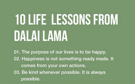10 Lessons Everyone Needs To by 10 Inspirational Lessons From Dalai Lama That